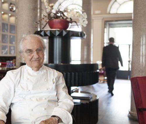 """Gualtiero Marchesi: """"Oggi tutti pensano di avere qualcosa da dire sul cibo"""""""