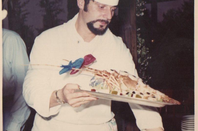 1970-1971 a capo delle cucine dell'hotel timi ama di villasimius