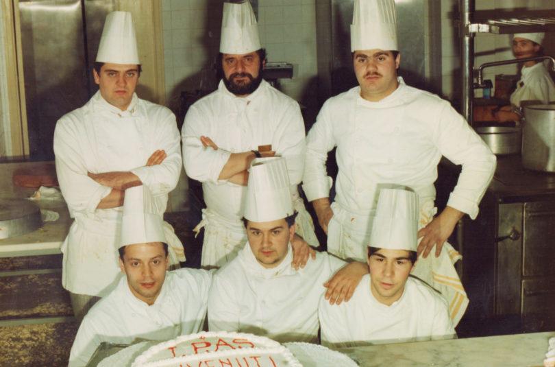 Gli anni all'Istituto alberghiero di Villa Santa Maria