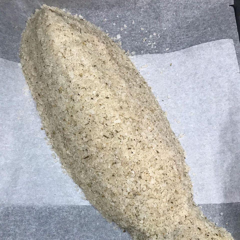 Spigola (o branzino?) al sale