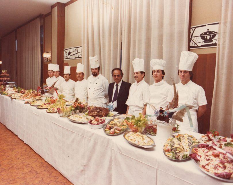 I grandi pranzi degli anni Ottanta e Novanta