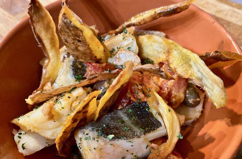 Baccalà e bucce di patate