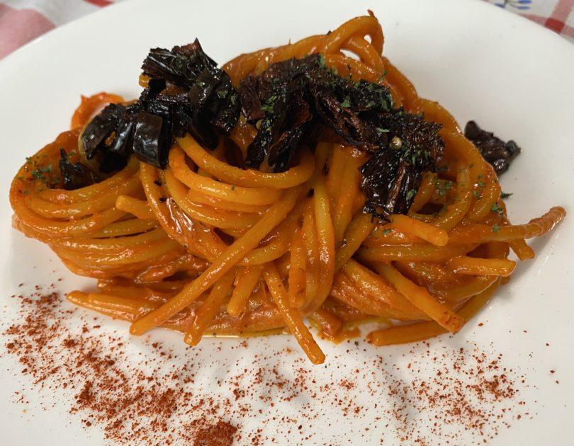 Spaghettoni rosso peperone